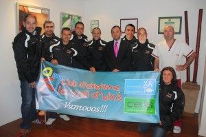 Ceos con el Club d´atletisme