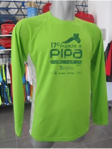 Camiseta para los corredores