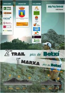 II trail Pics de Betxi y I marxa Pics de Betxi