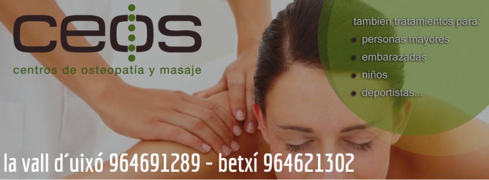 CEOS, Centros de Osteopatía y masaje.